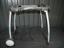 Genuine WEBER Portable Cart Mobile Trolley suit Baby Q 100 & Q 200 FOLDS DOWN