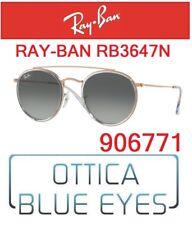 Occhiali da sole Ray-ban Rb3647n-51 15 Gold Dimgray