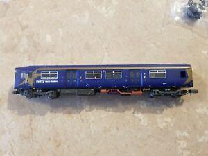 First North Western 2 Car DMU Sprinter Set. N Gauge Farish 371-325 Class 150/1.