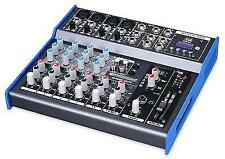 DJ PA Mixer Effect Mixing Console FX Unit 8 Channels EQ Mp3 XLR DMX Jack 6.3mm
