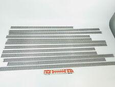 bl5-3 # 12 x Roco H0 / DC 42201 Flex Rieles/Flexible Vía/piezas de vía PLATA
