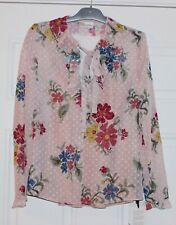 RED VALENTINO RUFFLED COLLAR BLOUSE W/BOW...SZ