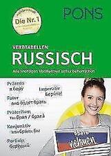PONS Verbtabellen Russisch (2017, Taschenbuch)