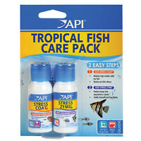 API Tropical Fish Care Pack Starter Kit Stress Coat & Stress Zyme 30ml each