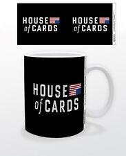 HOUSE OF CARDS LOGO 11 OZ MUG POLITICAL DRAMA TV SERIES NETFLIX WASHINGTON DC US