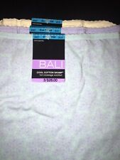 Bali DFV332 Cool Cotton Skamp Full Coverage Comfort Brief Panty 2XL/9 3 Pairs
