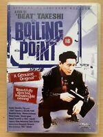 Bollente Point DVD 1990 Giapponese Gangster Crimine Giallo W/Takeshi Kitano