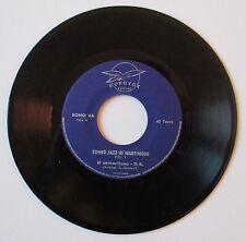 """Vinyle 45T Combo Jazz of Martinique  """"El samaritano"""" - TRES RARE"""