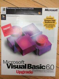 Microsoft Visual Basic 6.0 Professional 6 Upgrade + Interdev + MSDN 4 Windows 10
