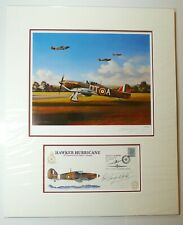 Nicolas Trudgian Bob Stanford-Tuck Tribute Folio, print and signed postal cover