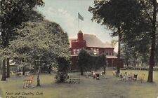 St Paul MN Relax in Rocking Chairs Under Shade Trees @ Town & Country Club 1914