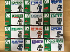 Votoms A Set of 12 Votoms Series Kits 1/60 Scale From Wave (Super Rare)