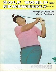 1971 11/9 Golf World Newsweekly magazine, Lee Trevino, GOOD