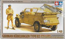 1/48 Tamiya 32503 - Kuebelwagen Type 82 - Africa Korps Plastic Model Kit