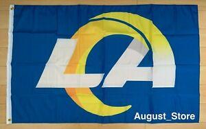 Los Angeles Rams Flag 3x5 ft Banner LA NFL
