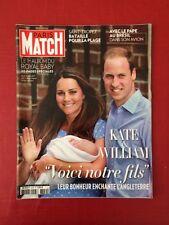 Paris Match du 25 Juillet 2013 Kate, William et Baby George Album 20 Pages