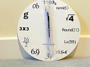 Novelty Maths Clock