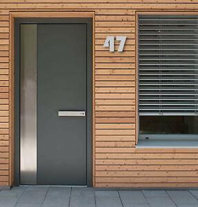 Acrylic House Bauhaus   Modern Designer Door Numbers   Floating Numbers