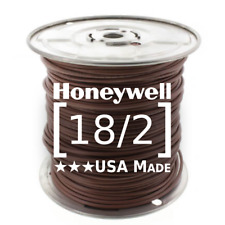 Honeywell Genesis 18/2 Thermostat Wire 500' Roll #4710 18 AWG 2 Solid Conductors