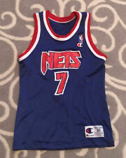 Vintage Kenny Anderson New Jersey Nets Champion Nba Basketball Jersey Size 36