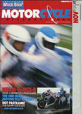 MCI Nov 1985 Suzuki GSX-R750 Kawasaki GPz900R BMW K75C GPz1000R Laverda SFC1000