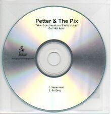 (786B) Petter & The Pix, Nevermind / So Easy - DJ CD