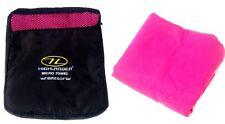 Mesdames lush hot pink en microfibre serviette à main anti bacterial + sac de voyage gym Kit