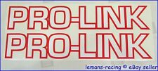 Pro-Link Swing Arm CR 125 250 500 TRIM SM834 Red White Decals Stickers XSM7