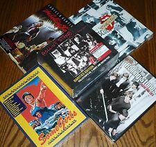 ROLLING STONES  4 DVD's + 2 CD's + T-SHIRT + PICK + MORE Super-Duper Mega Bundle