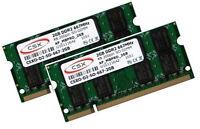 2x 2GB 4GB Speicher Ram Lenovo ThinkPad T60 T60p T61 X300 DDR2 667 Mhz