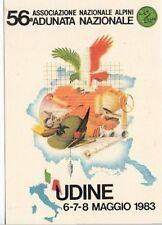 A2342) ALPINI, UDINE 1983, ADUNATA NAZIONALE. RICOSTRUZIONE DEL FRIULI.