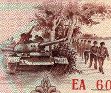 LAOS billet neuf de 20 KIP Pick28 TANK TROUPE MILITAIRE 1979