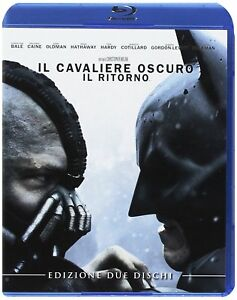 °THE DARK KNIGHT RISES° 2 BluRay Special Edition (IT Import Deutsche Tone)