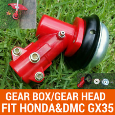 BRUSHCUTTER GEARHEAD SUITS HONDA GX35 GEARBOX FOR 9 SPLINE INNER DRIVE