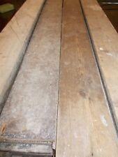 "Reclaimed 6 3/4"" Straight Edge Rustic Victorian Floor Boarding Pine"
