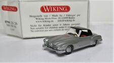 Wiking 1:87 Mercedes Benz 190 SL Coupé silbermetallic OVP 0799 20