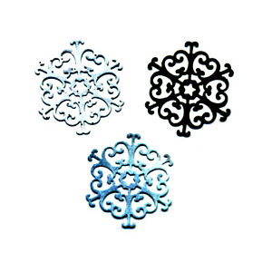 CUTTING DIES 1 MATRICE DE DECOUPE FLOCON DE NEIGE SCRAPBOOKING  006