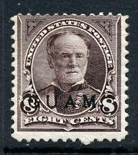 Bigjake: Guam #7, 8 cent Sherman with overprint, CV: $125.00