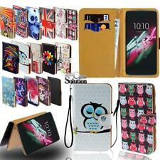 Flip Leather Wallet Stand Cover Phone Case For Alcatel OneTouch Pop Series