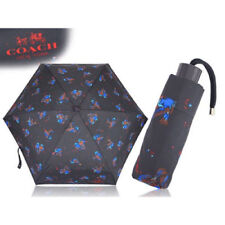 Coach Black Umbrella F24998 Sparrow Mini Umbrella (NWT)
