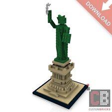 CB Architecture PDF Bauanleitung Freiheitsstatue aus LEGO® Steinen 414 Teile