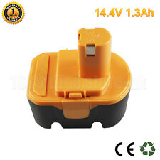 14.4V Battery For Ryobi BPP-1413 BPP-1415 BPP-1417 BPP-1420 B-1442T 1.3Ah Ni-Cd