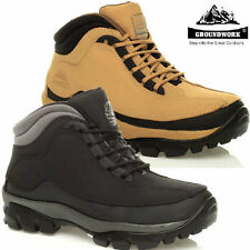 Groundwork Work Boots 100% Leather Shoes for Men