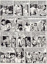 FULGOR (BILD) SUPERBE  PLANCHE ORIGINALE ARTIMA  ANNEES 1950 PAGE 3