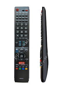 GB005WJSA Replace Remote Control fit for Sharp AQUOS TV GA935WJSA LC70LE650U