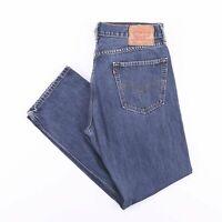 Vintage LEVI'S 505 Regular Straight Fit Men's Blue Jeans W30 L34
