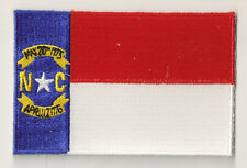 PP-357 bestickter Aufnäher Wappen Flicken Patch Flagge north Carolina
