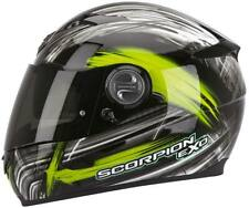 Casco integrale moto Scorpion exo 500 Ewok  2GR Nero Verde taglia M