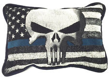 The Punisher American Flag Throw Pillow
