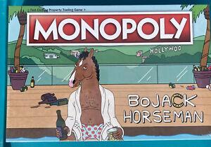 **SEALED** Monopoly Board Game Bojack Horseman Usaopoly